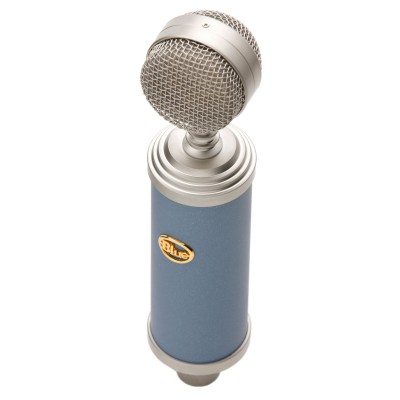 BlueBird Microphone Front On White