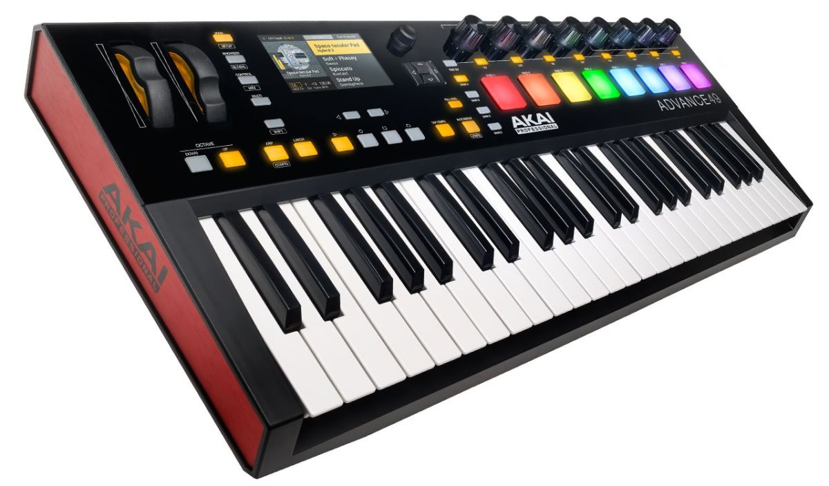 akai professional advance 49 key controller electric room. Black Bedroom Furniture Sets. Home Design Ideas