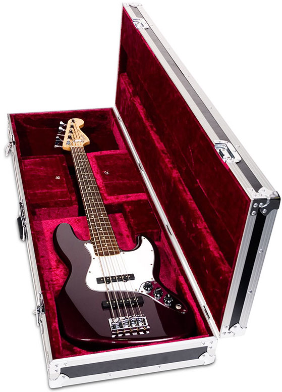 road ready cases rrgtrb bass guitar case fits fender jazz and p bass electric room. Black Bedroom Furniture Sets. Home Design Ideas